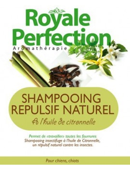 SHAMPOOING REPULSIF NATUREL CITRONNELLE