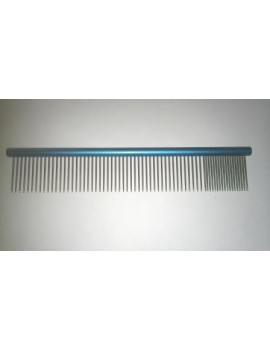 PEIGNE ALUMINIUM FINITION VOLUME LONGUES DENTS