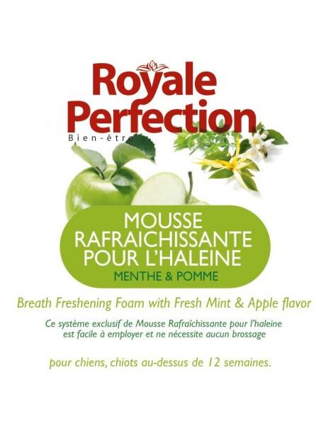 Mousse Haleine Fraiche pomme Menthe